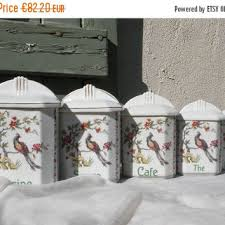 vintage canisters for kitchen shop vintage kitchen canisters on wanelo