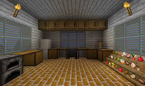 How To Make A Table In Minecraft Kitchen Minecraft Kitchen Only Will Use Item Frames For The Food