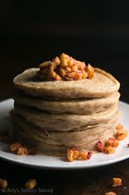 halloween pancakes cinnamon apple pancakes amy u0027s healthy baking