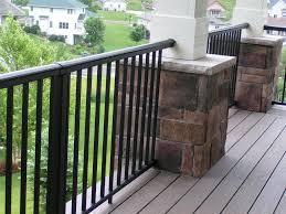 decorate a black porch railing u2014 bistrodre porch and landscape ideas