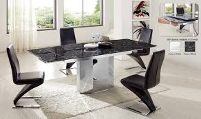 Table Ronde Blanche Avec Rallonge Pied Central by Table De Salle A Manger Design Avec Rallonge Table A Manger Avec