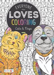 everyone loves coloring cats and dogs coloring book toys