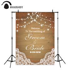 wedding backdrop board online shop allenjoy photography backdrop wedding wood board bokeh