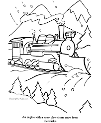 free printable train coloring pages kids coloring