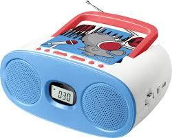 cd player für kinderzimmer cd player muse m 23 kdb aux cd ukw usb blau