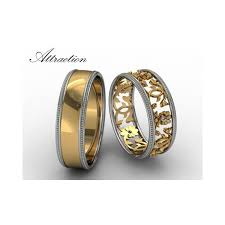 snubni prsteny luxusní zlaté snubní prsteny attraction goldorinlux
