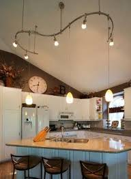 cathedral ceiling kitchen lighting ideas 10 best lighting images on kitchens vaulted