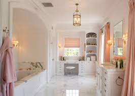 Pink Tile Bathroom by Bathroomdesign