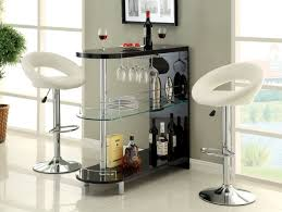 bar amazing modern white wooden wall cabinet with double glass