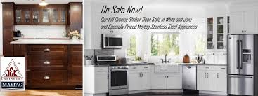 White Shaker Kitchen Cabinets Online White Shaker Cabinets Maytag Ss Appliance Sale Under 10k