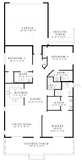 one level floor plans 3 bed plan 1344 sqft 28 x48 home fancy house