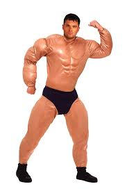 Dirty Male Halloween Costumes Amazon Forum Novelties Men U0027s Mister Muscles Padded