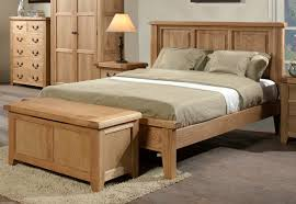 Wooden Bed Frame Double by Bedroom Natural Simple Design Wooden Double Bed Frame With Wooden