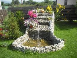 Diy Patio Fountain 15 Eye Catching Diy Garden Ideas Of Rocks And Pots You U0027ll Like