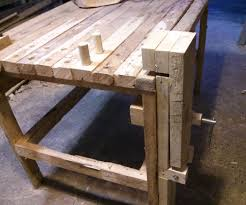 Wooden Bench Vice Parts by Make Your Own Bench Vise