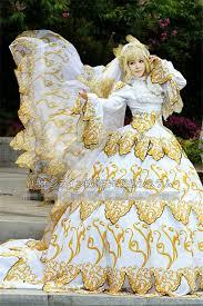 Halloween Costume Wedding Dress Anime Tsubasa Cosplay Sakura Hime Cosplay Costume Wedding Dress