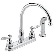 Delta Addison Kitchen Faucet 21996lf Two Handle Kitchen Faucet