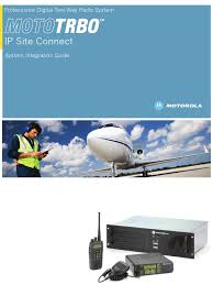 mototrbo ip site connect system integration guide ip address