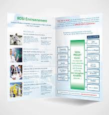 bureau d etude environnement création plaquette commerciale rdsi environnement