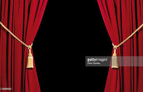 Velvet Curtains Red Velvet Curtains With Black Copy Space Stock Photo Getty Images