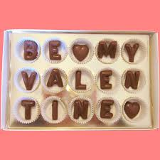 decorations nice letter chocolate gifts idea for valentines day