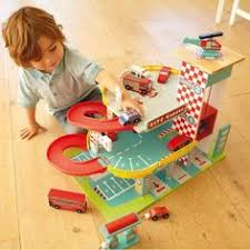 wooden play parking garage do it yourself home projects from ana