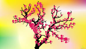 cherry blossom tree cherry blossom tree u0027s in bloom free vector u0026 clipart design