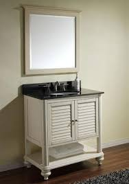 Antique Style Bathroom Vanity by Shuttered Bathroom Vanities For A Traditional Cape Cod Style Bathroom