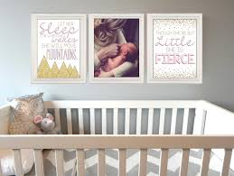 baby nursery decor pink gold baby room though she be