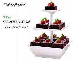 3 tier wedding cake stand aliexpress buy 3 tier plastic wedding cake stand tower