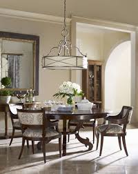 new pendant lighting over dining room table with additional ikea