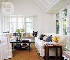 Interior Rustic Contemporary Cottage Style At Home - Cottage family room