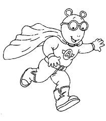 arthur clad superhero coloring pages for kids bvk printable