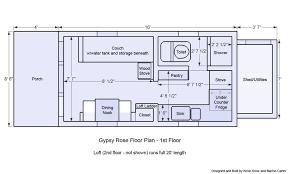 Tiny Houses On Wheels Floor Plans Rich The Ca 3817 Hbrd Me Floor Plans Mini House