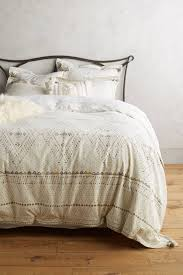 Gavin Bedroom Storage Bed Set Queen 6 Pc Shop The Embroidered Pointilliste Duvet And More Anthropologie At