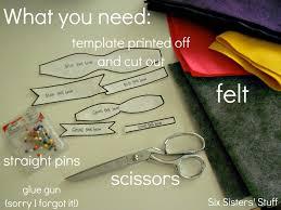 hair bow templates felt bow hairbow tutorial and free printable template six