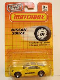 matchbox nissan 300zx matchbox 1990 nissan 300zx yellow 171787408389 9 26