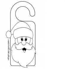 door hanger templates for christmas u2013 fun for christmas