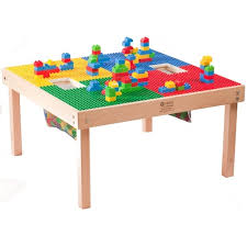 duplo table with chairs large or duplo mega compatible fun builder block table waiting