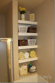 Diy Bathroom Ideas Gift Idea For Men Diy Bathroom Shelf For Beard Trimmer And Razor