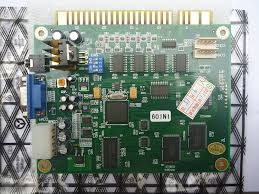 amazon com sintron classical arcade video game 60 in 1 pcb