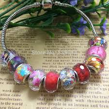 jewelry bracelet charms images 100pcs lot 14mm multi faceted big hole loose beads fit european jpg