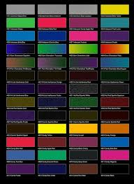 ultimate dupont auto paint color chart auto paint colors