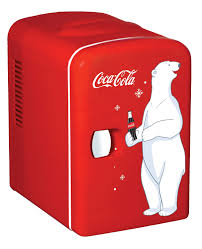 coca cola personal mini fridge