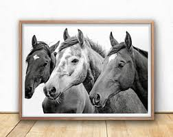 wild horse print etsy