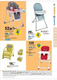 chaise haute b b leclerc e leclerc bébé cataloguespromo com