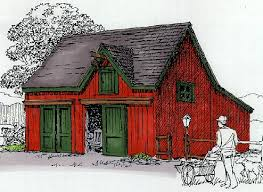 Small Barn Plans Backroad Homes Sheds And Out Building Plans
