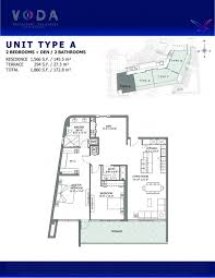 floor plan model a linea atvoda waterfront residences north