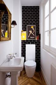 Black And White Bathroom Tiles Ideas by Top 25 Best Toilet Tiles Ideas On Pinterest Small Toilet Design
