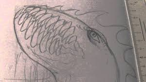 drawing a sea monster step by step video youtube